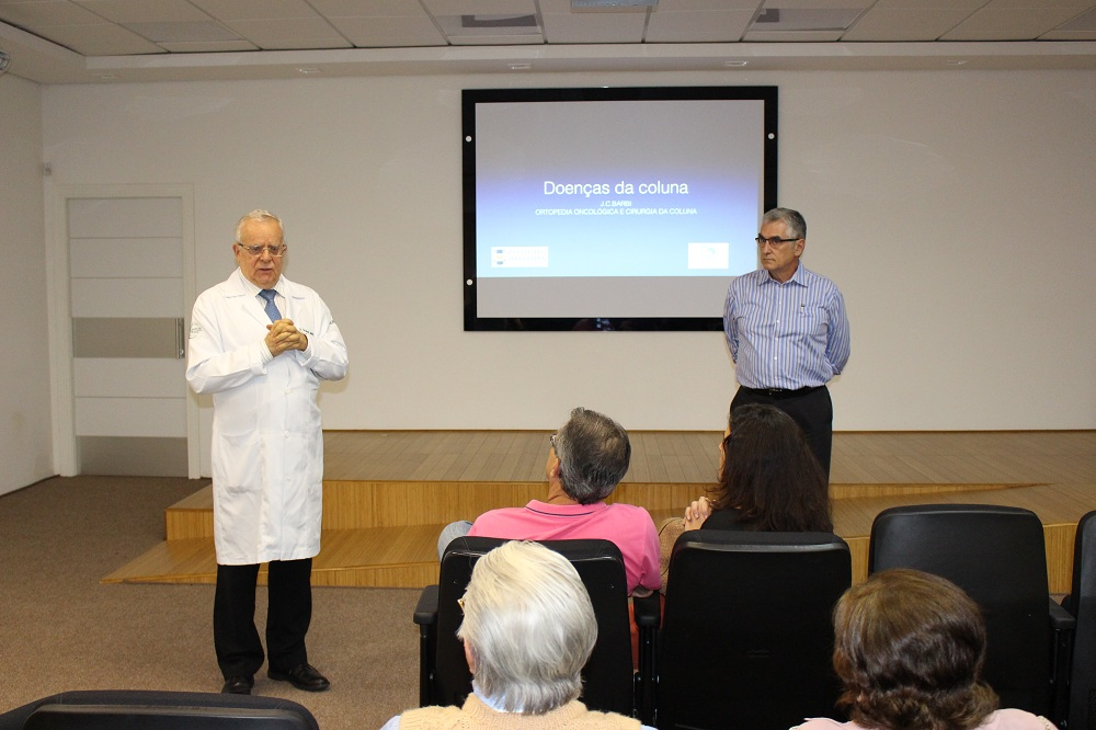Dr. Fernando Medina da Cunha, do COC, e Dr. José Carlos Barbe, do ICC