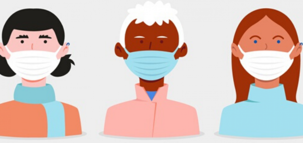 Máscaras: uso e cuidados